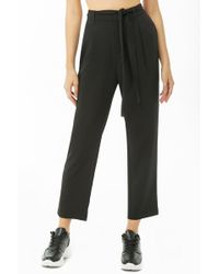 Forever 21 - High-rise Pleated Trousers - Lyst