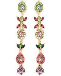 Forever 21 - Faux Jewel Drop Earrings - Lyst