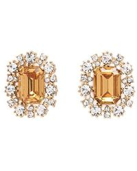 Forever 21 - Faux Gemstone Stud Earrings - Lyst