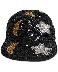 Forever 21 - Moon & Star Sequin Cabby Hat - Lyst