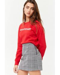Forever 21 - Houndstooth Mini Skirt - Lyst