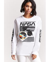 Forever 21 - Nasa Graphic Long-sleeve Tee - Lyst