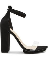 Forever 21 - Faux Suede Block Heels - Lyst