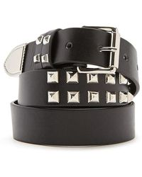 Forever 21 - Studded Faux Leather Hip Belt - Lyst