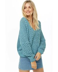 Forever 21 - Diamond Knit Sweater - Lyst