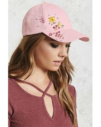 Forever 21 | Embroidered Baseball Cap | Lyst