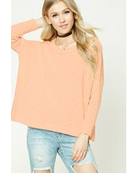 Forever 21 - Purl Knit Boxy Jumper - Lyst