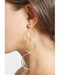 Forever 21 - Cutout Drop Earrings - Lyst