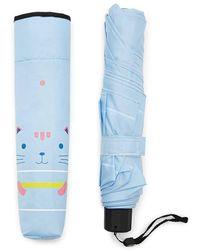Forever 21 - Compact Cat Umbrella - Lyst