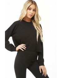 Forever 21 - Boxy Waffle Knit Top - Lyst