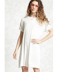 Forever 21 | Jersey Knit T-shirt Dress | Lyst