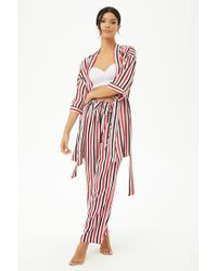Forever 21 - Multicolor Striped Robe - Lyst