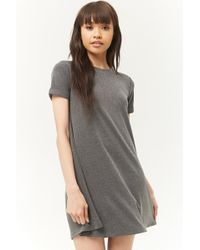 Forever 21 - Faded A-line Mini Dress - Lyst
