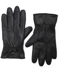 Forever 21 - Men Genuine Leather Gloves - Lyst