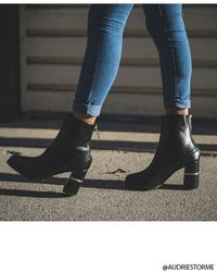Forever 21 - Faux Leather Ankle Boots - Lyst