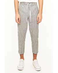 Forever 21 - Pinstriped Ankle Pants - Lyst