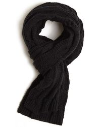 Forever 21 - Men Cable Knit Distressed Scarf - Lyst