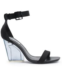 FOREVER21 - Open-toe Lucite Heels - Lyst