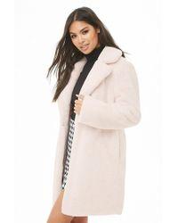 Forever 21 - Faux Fur Coat - Lyst