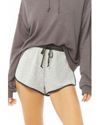 Forever 21 - Women's Satin-trim Marled Pyjama Bottoms - Lyst