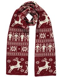Forever 21 - Christmas Print Oblong Scarf - Lyst