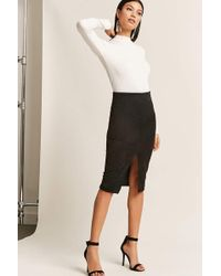 Forever 21 - Faux Suede Skirt - Lyst