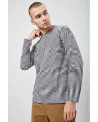 Forever 21 - Striped Crew Neck Tee - Lyst