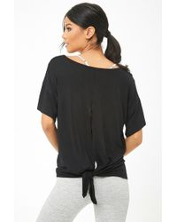 Forever 21 - Active V-neck Cutout Tee - Lyst