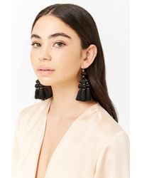 Forever 21 - Tassel Chandelier Earrings - Lyst