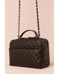 Forever 21 - Quilted Faux Leather Satchel - Lyst