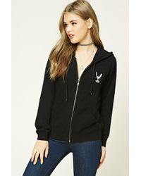 Forever 21 - Cool Bunny Graphic Hoodie - Lyst