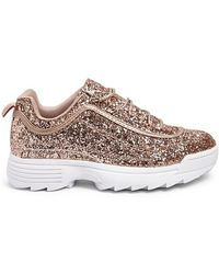 Forever 21 - Glittery Tennis Shoes - Lyst