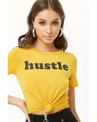 Forever 21 - Hustle Graphic Tee - Lyst