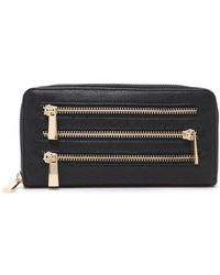 Forever 21 - Zippered Faux Leather Wallet - Lyst