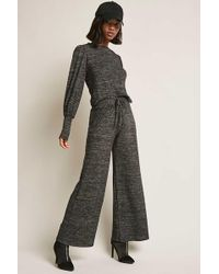Forever 21 - Heathered Knit Trousers - Lyst