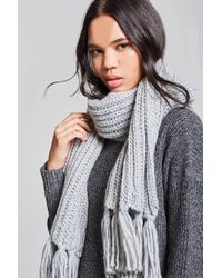 Forever 21 - Open-weave Oblong Scarf - Lyst