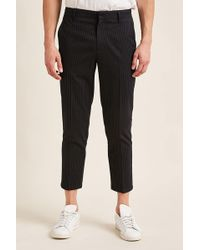 Forever 21 - Pinstripe Ankle Pants - Lyst