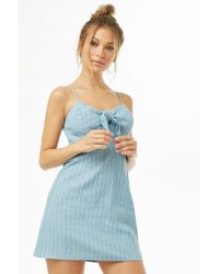 Forever 21 - Knotted Cami Mini Dress - Lyst