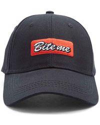 16d70db9c Forever 21 Bleach-dye Wu-tang Hat in Black for Men - Lyst