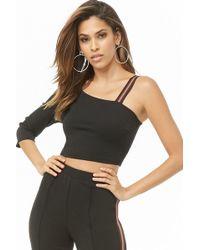 Forever 21 - Women's Asymmetrical One-sleeve Top - Lyst