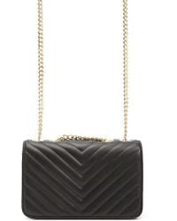 Forever 21 - Quilted Chevron Crossbody Bag - Lyst