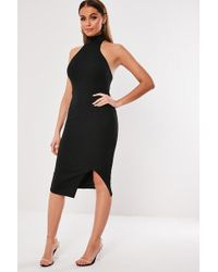 Missguided - Open-back Dress At - Lyst