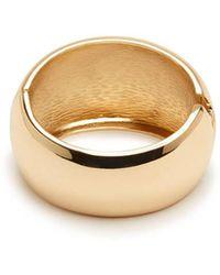 Forever 21 - Goldtone Hinge Bracelet - Lyst