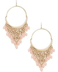 Forever 21 - Beaded Chandelier Earrings - Lyst