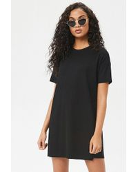 Forever 21 - Ribbed Knit T-shirt Dress - Lyst