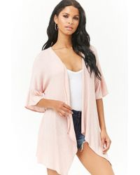 Forever 21 - Draped Longline Cardigan - Lyst