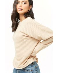 Forever 21 - Women's Ribbed Long Sleeve Top - Lyst