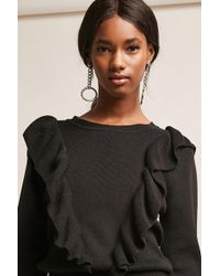 Forever 21 - Dual Flounce Jumper - Lyst