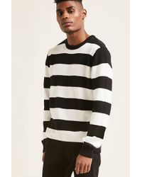 Forever 21 - Stripe Ribbed Sweater - Lyst