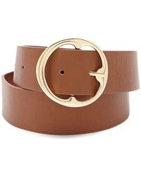 Forever 21 - Circle Buckle Belt - Lyst